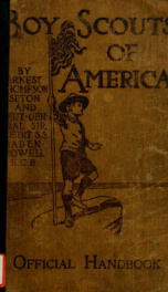 Boy scouts of America : a handbook of woodcraft scouting, and life-craft_cover