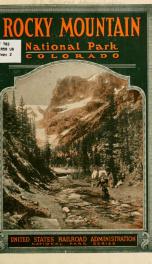 Rocky mountain national park, Colorado .._cover