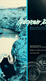 Hydropower 2002 : Reclamation's energy initiative_cover