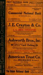 Charlotte, North Carolina city directory [serial] 1915_cover