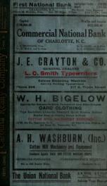 Charlotte, North Carolina city directory [serial] 1914_cover