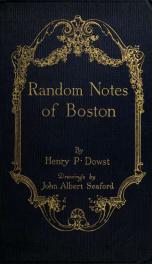 Random notes of Boston_cover