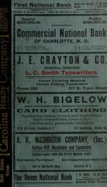 Charlotte, North Carolina city directory [serial] 1912_cover