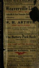 Asheville, North Carolina city directory [serial] v.17(1918)_cover