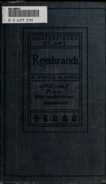 Rembrandt; a collection of fifteen pictures and a portrait of the painter_cover