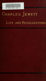 Charles Jewett: life and recollections_cover