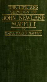 The life and services of John Newland Maffitt_cover