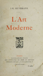 L'art moderne_cover