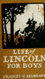 A life of Lincoln for boys_cover