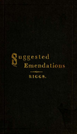 Suggested emendations of the authorized English versions of the Old Testament_cover