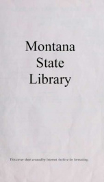 Montana labor market supplements 1968_cover