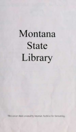 Montana labor market supplements 1970_cover
