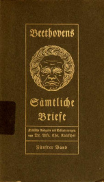 Beethovens sämtliche briefe; 5_cover