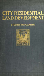 City residential land development;_cover