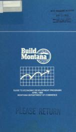Guide to economic development programs APR 1988_cover