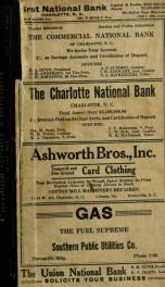 Charlotte, North Carolina city directory [serial] 1918_cover