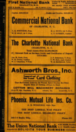 Charlotte, North Carolina city directory [serial] 1917_cover