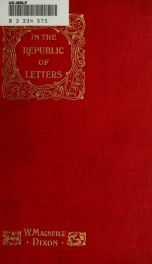 In the republic of letters_cover