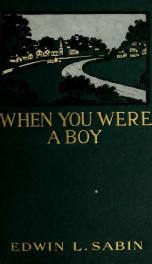When you were a boy_cover