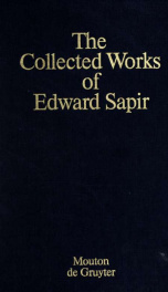 The collected works of Edward Sapir 10_cover