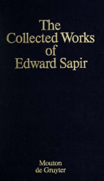 The collected works of Edward Sapir 8_cover