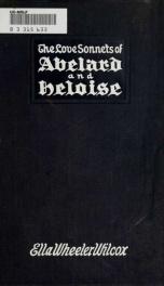 The Love sonnets of Abelard & Heloise_cover