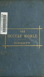 The occult world .._cover