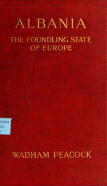 Albania, the foundling state of Europe_cover