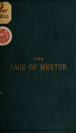 The sage of Mentor. In five cantos_cover