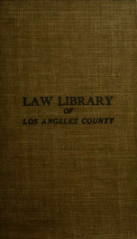 A treatise on the law of easements_cover