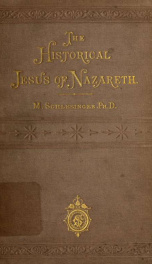 The historical Jesus of Nazareth_cover