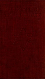 Zionism and the Jewish future_cover
