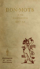 Bon-mots of the nineteenth century_cover