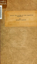 The social evolution of the Argentine republic_cover