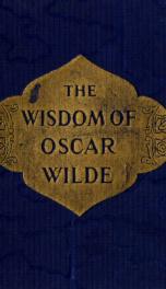 The wisdom of Oscar Wilde;_cover