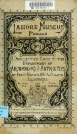 A descriptive guide to the Department of archaeology & antiquities [microform]_cover