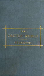The occult world_cover