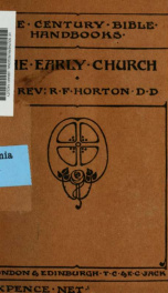 The early church_cover