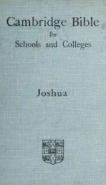 The book of Joshua_cover