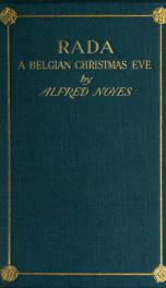 Rada; a Belgian Christmas eve_cover