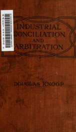 Industrial conciliation and arbitration_cover