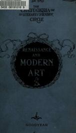 Renaissance and modern art_cover