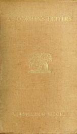 A bookman's letters_cover