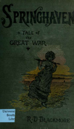 Springhaven. A tale of the great war 1_cover