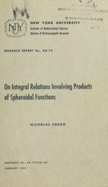 On integral relations involving products of spheroidal functions_cover