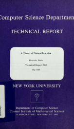 A theory of natural learning_cover