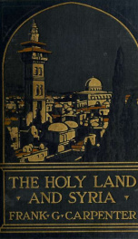 The Holy Land and Syria_cover