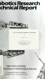 The viewpoint consistency constraint_cover