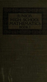 Junior high school mathematics_cover