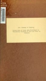 Select list of books, with references to periodicals, relating to iron and steel in commerce_cover